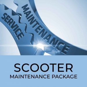 Scooter maintenance package