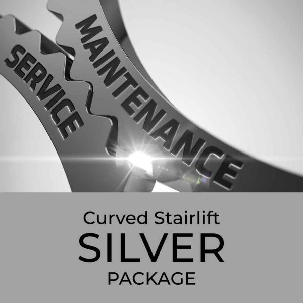 Curved Stairlift Silver Package
