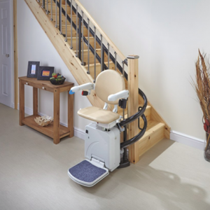 handicare-simplicity-2000 curved-stairlift