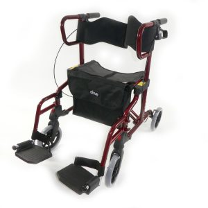 Diamond deluxe - chair and rollator